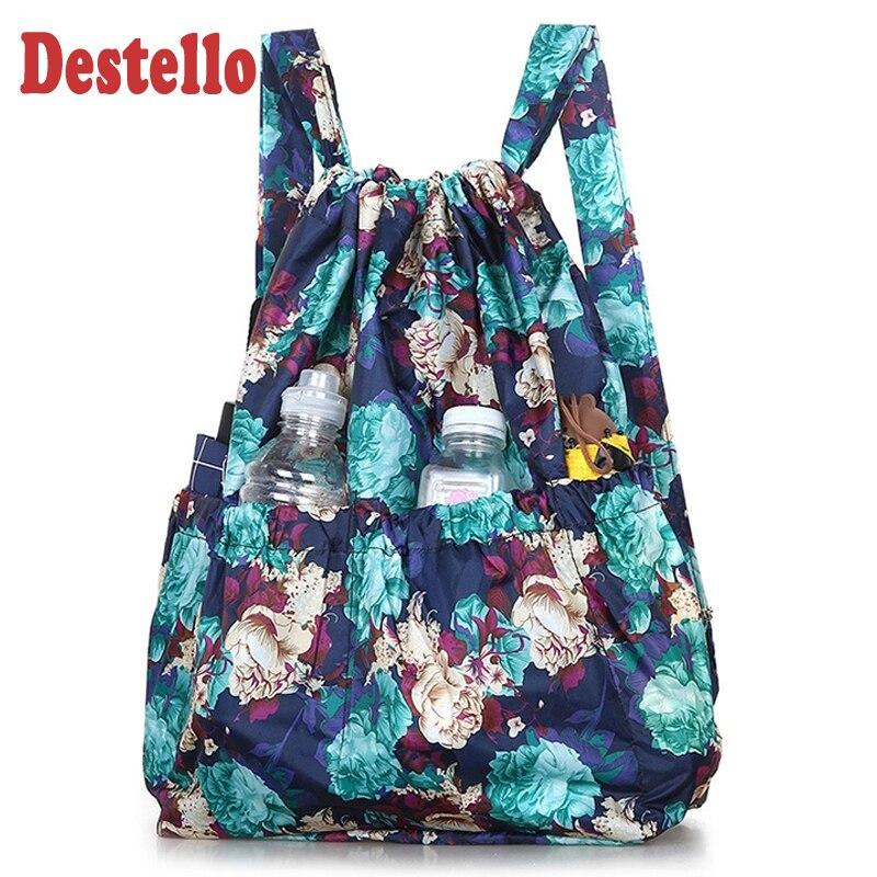 Mochilas modernas de verano para mujer, mochila con estampado Floral, mochila escolar para niñas, mochila de viaje para mujeres, bolso de hombro de gran capacidad