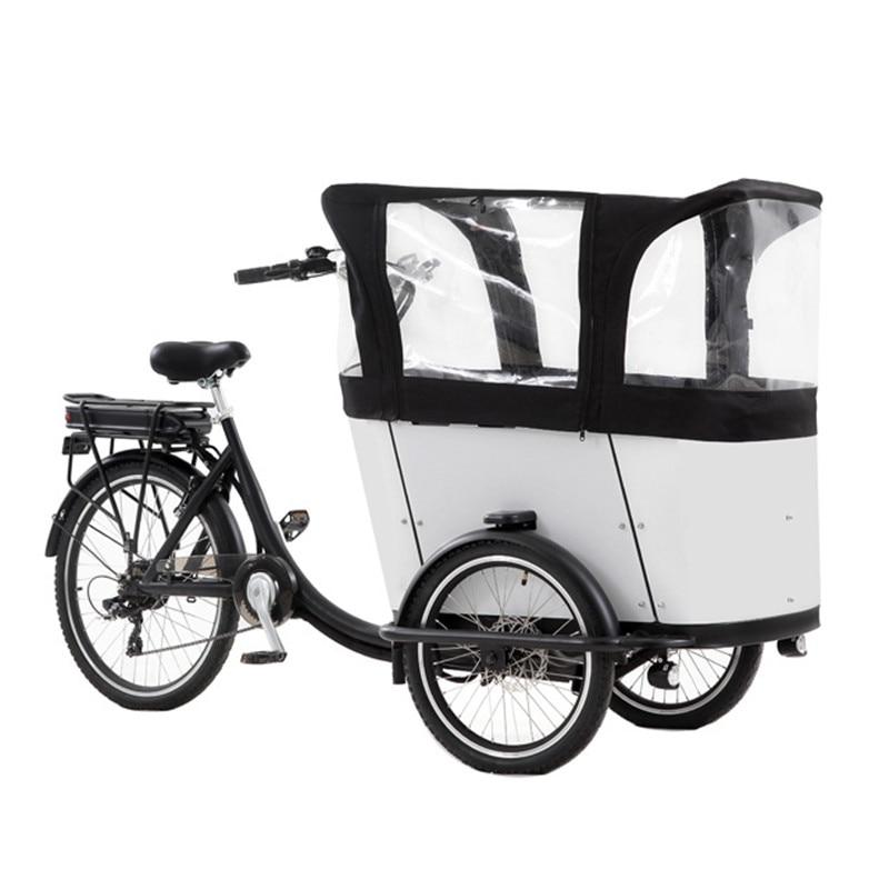 الدراجة الكهربائية الهولندية الدراجة البضائع 3 عجلات الألومنيوم إطار دراجة هوائية للبيع