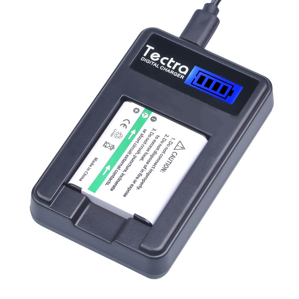 Batería de cámara Li50B Li-50B Li50B de D-Li92 Li con cargador USB con LCD para Olympus Mju 1020 SP-800UZ Stylus 1010 u 1010 Ricoh CX3