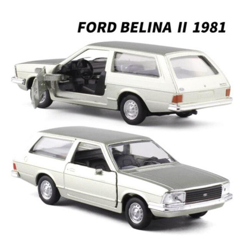 Aleación de Metal clásica ALFA ROMEO/PARATI/Chevrolet/Brasilia/WILLYS aerodinámico, modelo de coche, vehículos de fundición a presión para colección de regalos, 1/32
