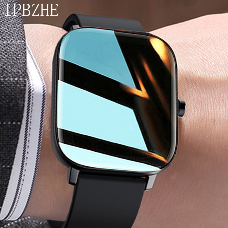 Ipbzhe Smart Watch Women 2021 Android Reloj Inteligente Sports Smartwatch Bluetooth Call Smart Watch For Men IOS Iphone Huawei