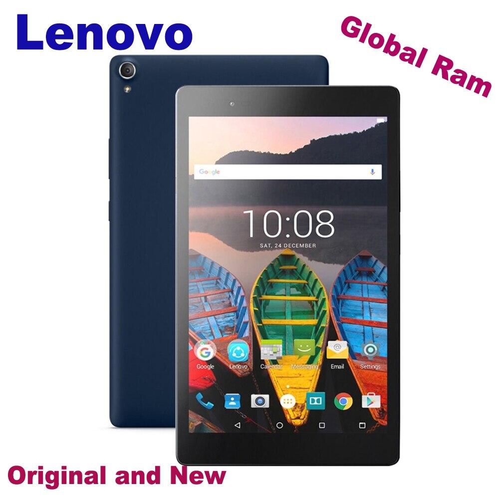Original Lenovo Tab 3 8 Plus TB-8803F 3GB 32GB Android 6.0 4G LTE Phone Call Tablet PC Qualcomm APQ8053 Octa Core GPS 8