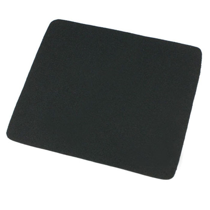 22*18cm Universal Mouse Pad Mat for Laptop Computer Tablet PC Black Mousepad Gamer Gaming Accessorie