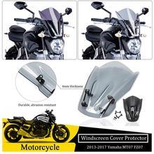 Pare-vent pour moto   Support de montage pour 2013 2014 2015 2016 2017 Yamaha MT07 FZ07 MT FZ 07
