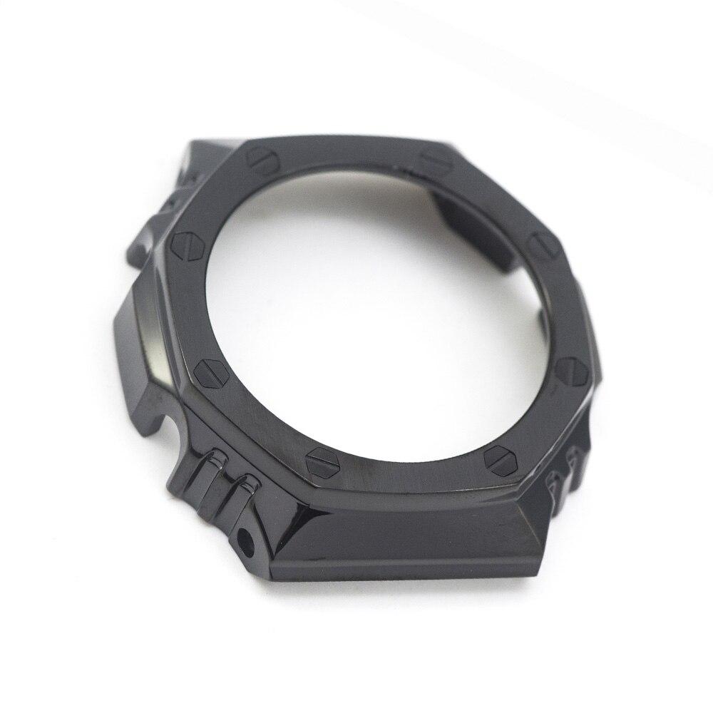 ¡Novedad! Reloj GA2100 con bisel de correa de reloj de Metal de acero inoxidable 316L