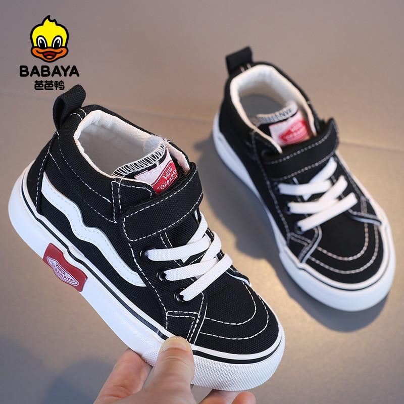 Парусиновая обувь для девочек и мальчиков babaya, весна Зима 2021, зимняя обувь для снега, хлопковые ботинки, детские кроссовки Сапоги    АлиЭкспресс