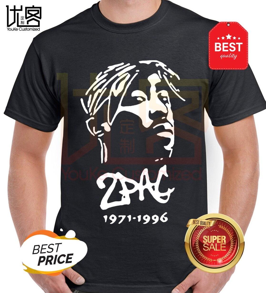2Pac T Shirt Hiphop Tee Men Women Cotton T-Shirt Summer Top Clothing Short Sleeve Tshirt Tupac Hip Hop