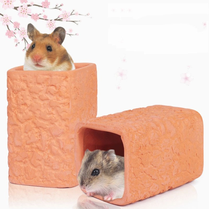 Casa de plástico para mascotas, jaula de plástico para mascotas pequeñas, Hamster,...