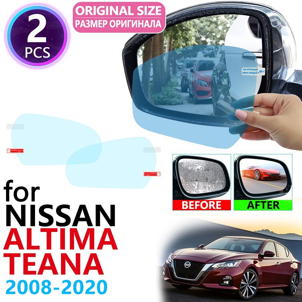 Для Nissan Altima Teana J32 J33 J34 2008 ~ 2020 полное покрытие Зеркало заднего вида непромокаемые Анти-противотуманная пленка аксессуары 2009 2014 2016 2017