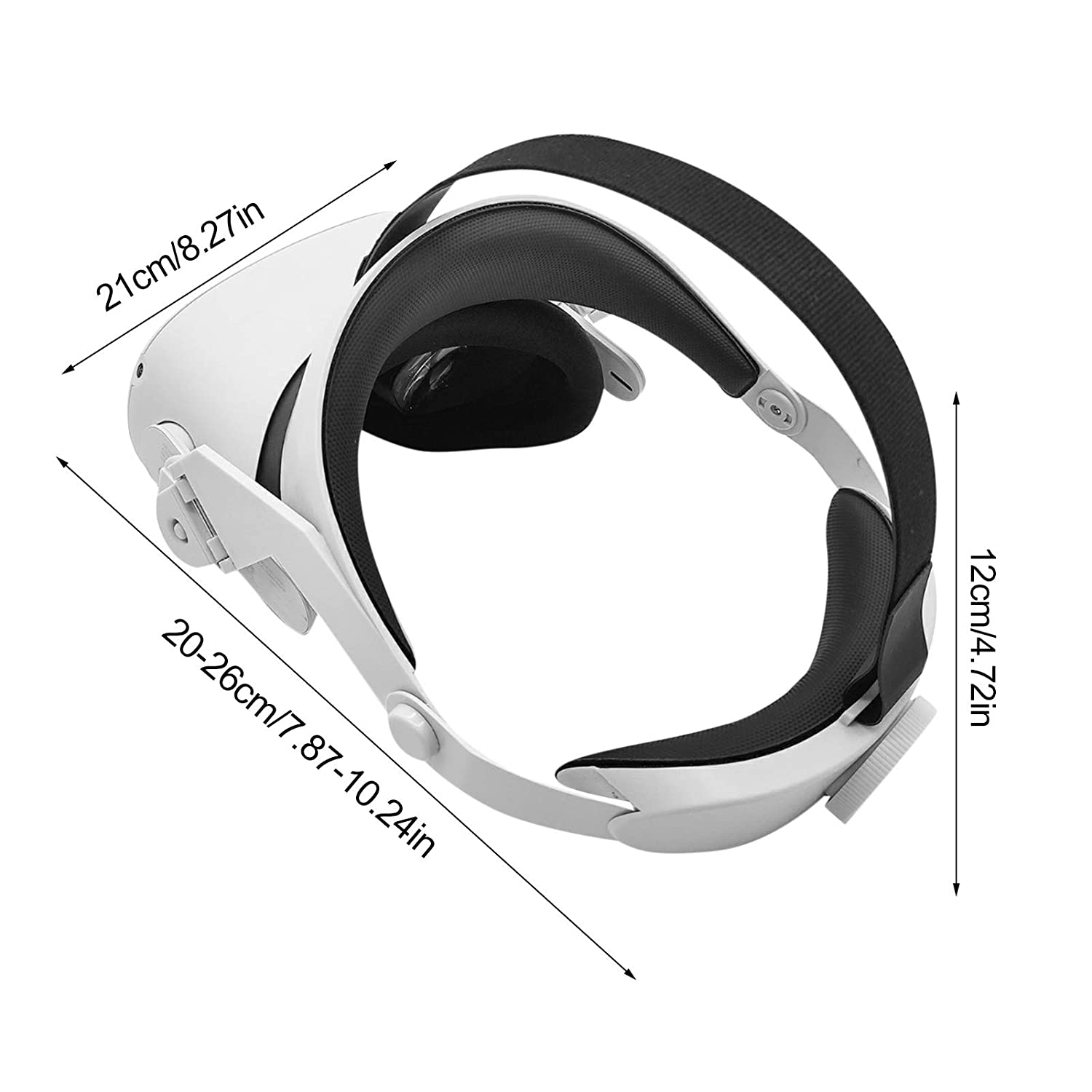 Replacement Halo Strap for Oculus Quest 2 Strap Headband VR Glasses Headset Support for Quest 2 Accessories enlarge