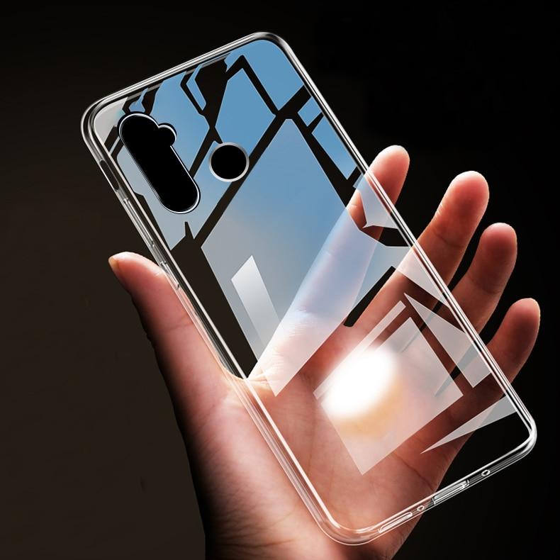 Cubierta trasera protectora ultrafina transparente suave TPU para xiaomi redmi note 8 Pro delgada para xiaomi redmi note 8 note8 shell