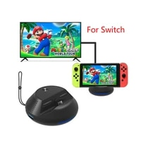 portable cooling heat dissipation type c tv dock base converter usb 3 0 output station for ns switch gamepad console