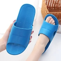 summer women indoor slippers floor flat shoes couples non slip bathroom slippers men eva comfortable home soft slippers female