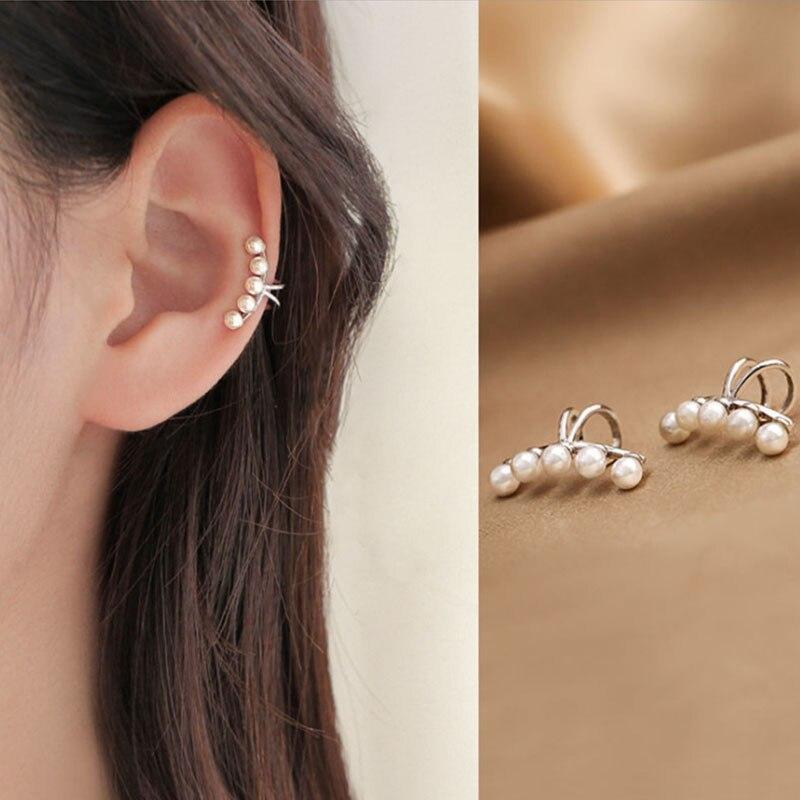 ventfille-1-пара-925-пробы-Серебряная-Двойная-Цепочка-Слои-Асимметричный-клипсы-женский-не-проколотых-ушей-костяные-серьги-оптом