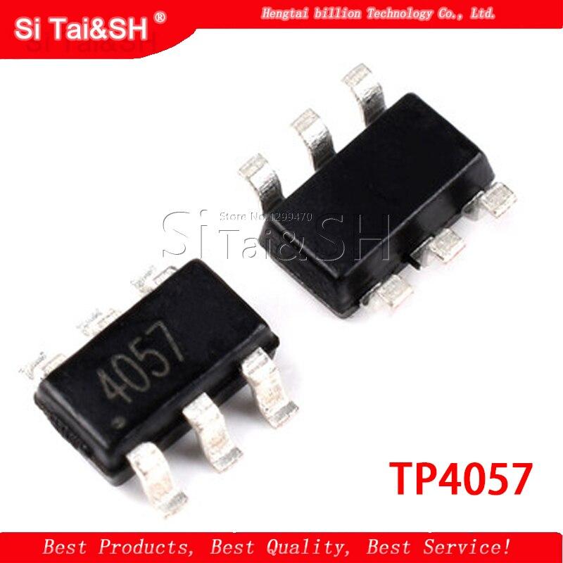 10 PIÈCES TP4057 IC 500mA 1% SOT-23-6