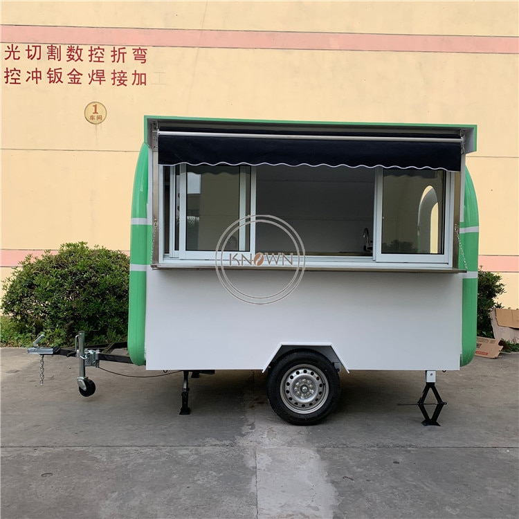 Camion de restauration rapide de cuisine extérieure de nouveauté avec léquipement de cuisson/camion de nourriture Mobile dusine de la chine à vendre leurope