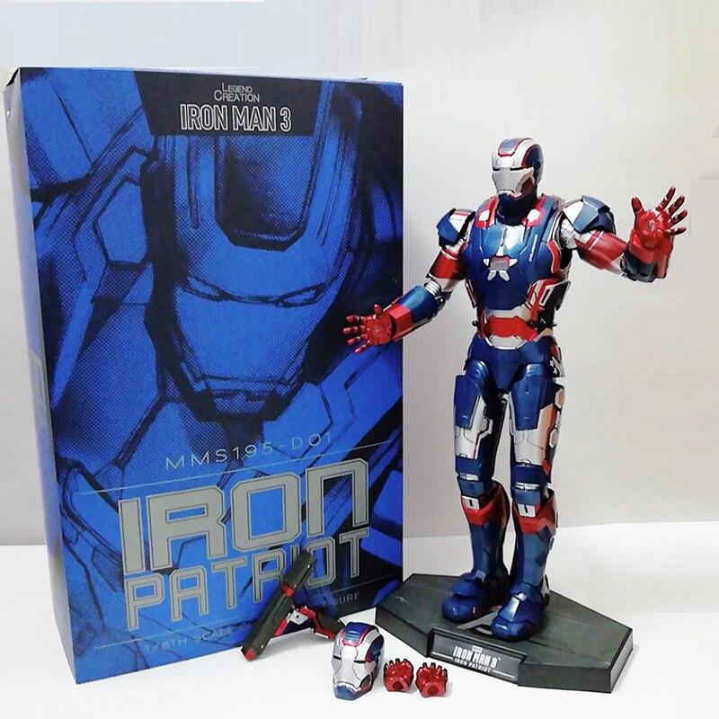 12 pulgadas 30cm 2019 nuevo HC MMS195 Iron Man vengadores PVC figura de acción juguete de modelos coleccionables regalo para Navidad