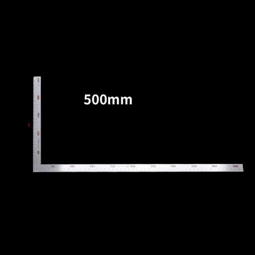 Medición L regla de ángulo cuadrado Taller de trabajos de carpintería de precisión