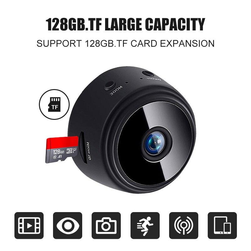 A9 Mini IP WiFi كاميرا 1080P/720P اللاسلكية الأمن التحكم عن بعد مراقبة للرؤية الليلية الطفل كاميرا تحرّي الحركة كامل H D