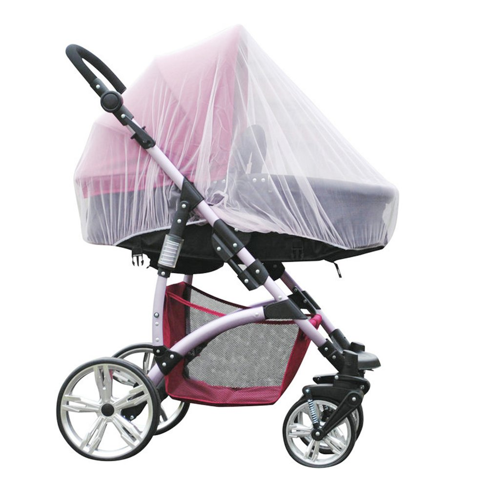 Kids Stroller Pushchair Mosquito Insect Net Mesh Buggy Cover Baby Mosquito Net 1 Pc Hot Full Outdoor Baby Infant