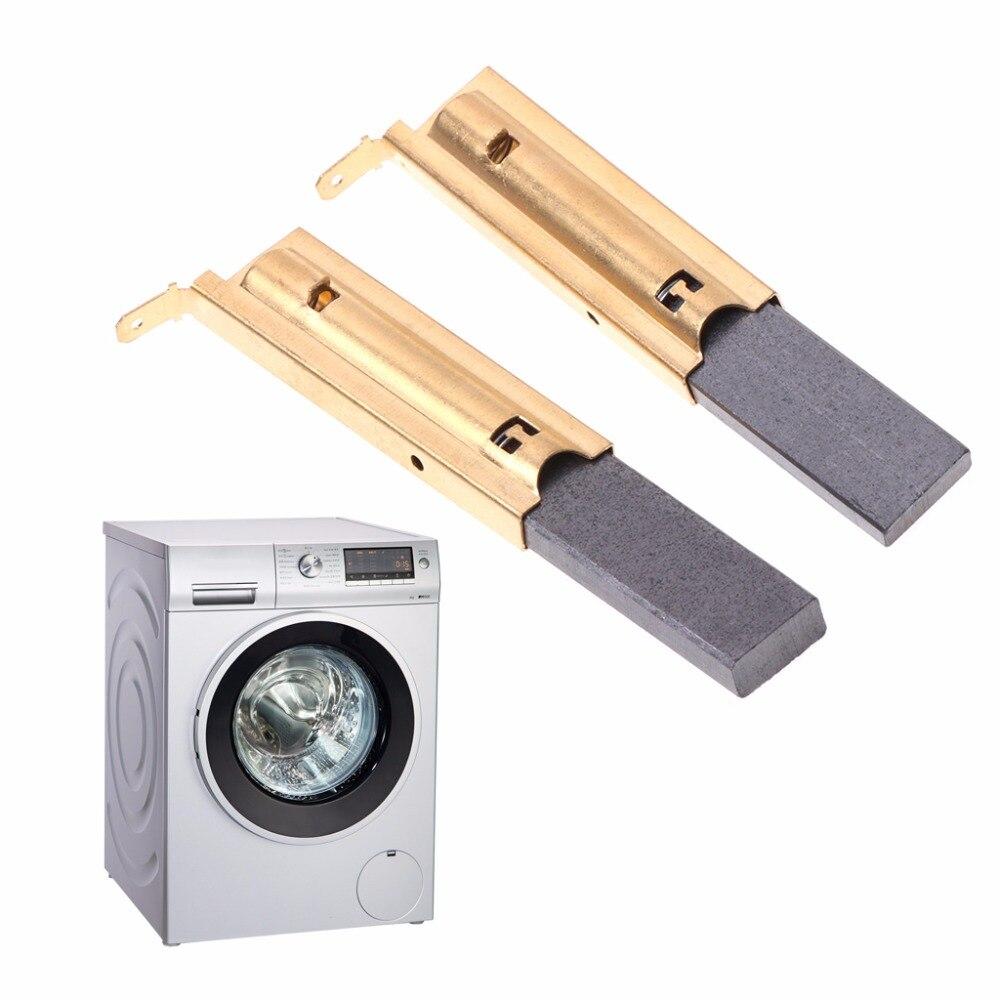 2 unids/set lavadora de carbono para Motor de cepillos L94MF7 para Siemens 5x13,5x10166