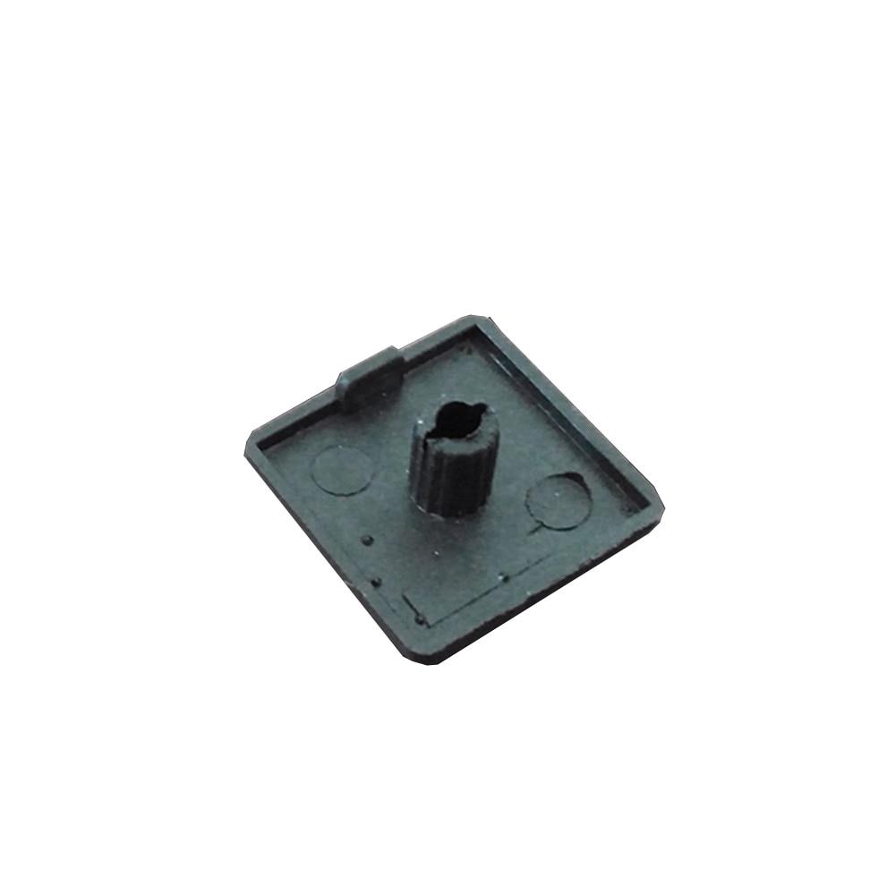 Наконечник из АБС-пластика 5050 для серии аксессуаров из алюминиевого профиля с одним отверстием, 50 шт.