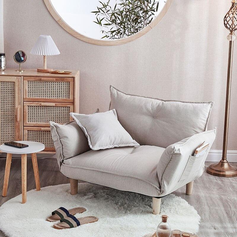 Диван-трансформер регулируемый в японском стиле, диван-кровать «футон» с романтичным сиденьем, складная мебель, идеально подходит для гостиной, спальни, общежития