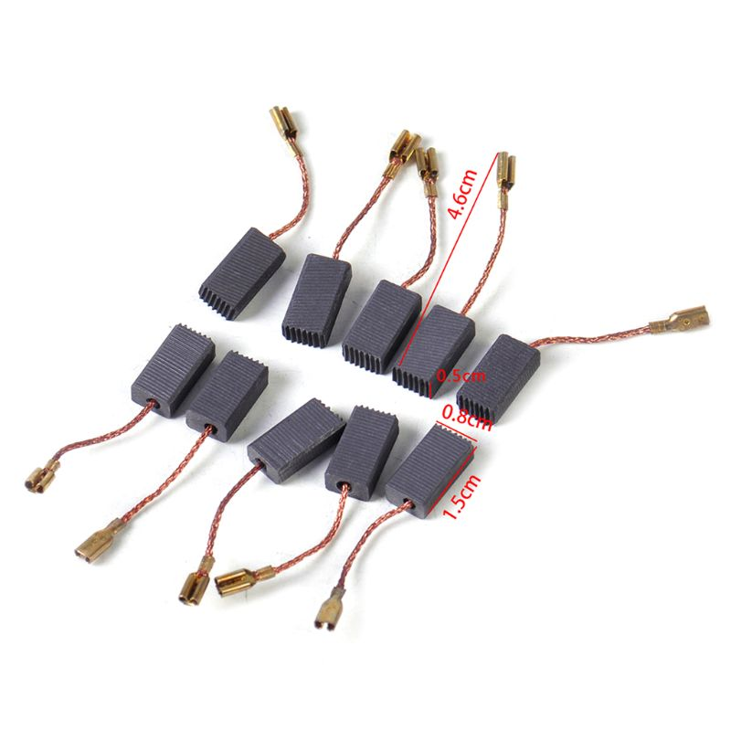 Сменные карбоновые щетки 10 шт., подходят для BOSCH GWS 580 GWS 850 C GWS 7 115 GWS 8 125 GWS 9 150CS GWS6 100 D11 G8TB Аксессуары для электроинструментов      АлиЭкспресс