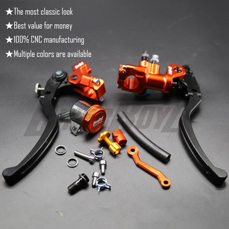 CNC 17.5 RCS Motorcycle Brake Master Cylinder Cable clutch Radial Brake Pump 22mm Universal For Honda Yamaha Kawasaki Suzuki