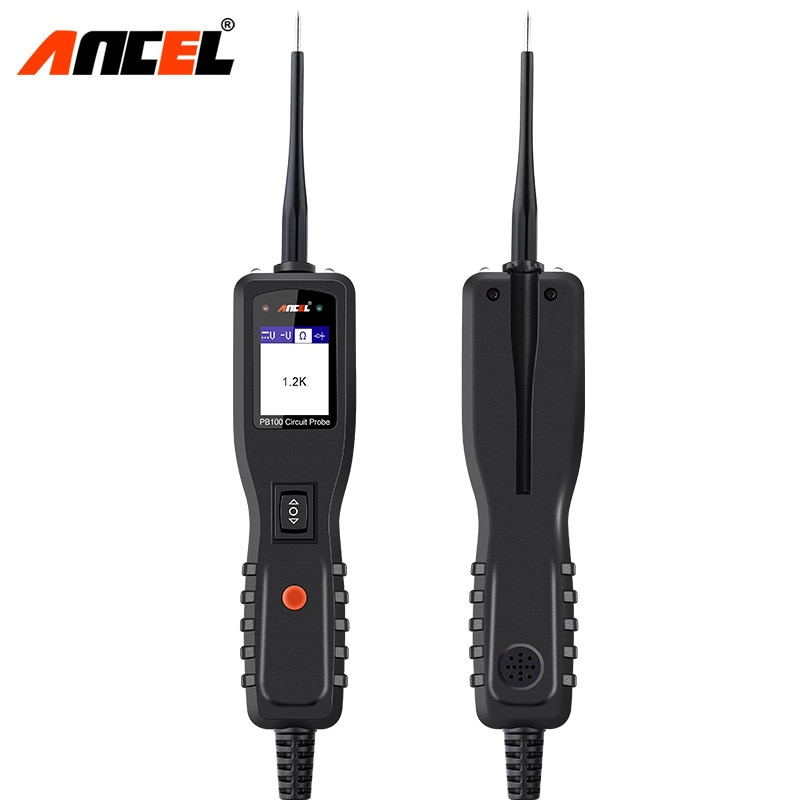 Ancel Powerscan 12V Auto Car Circuit Tester Electrical System Diagnostic Tool Super Power Probe Car AC DC Voltage Tester PB100