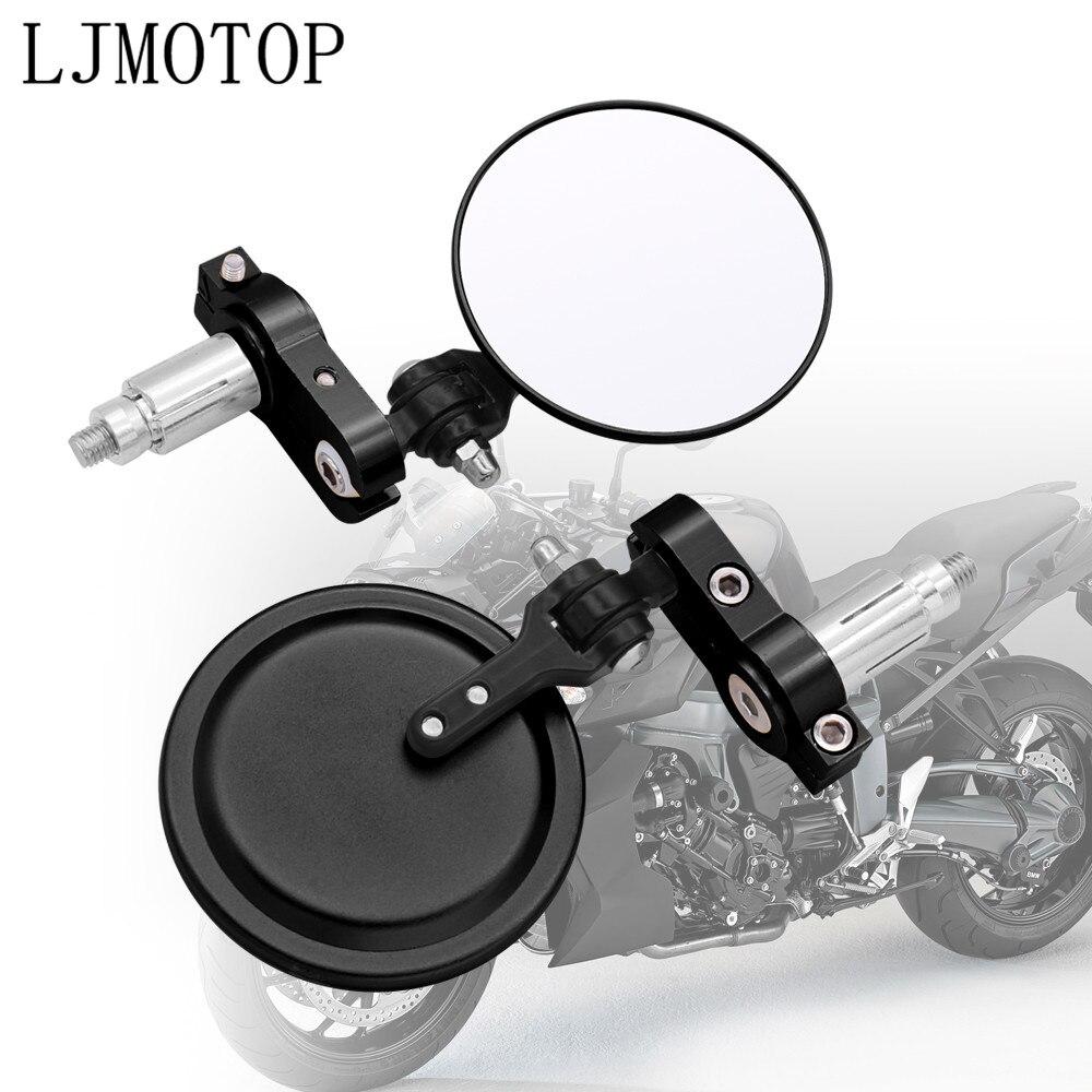 Мотоциклетные алюминиевые зеркала заднего вида для Honda MSX 125 CB650R CB125R XADV X ADV 750X11 ST1300