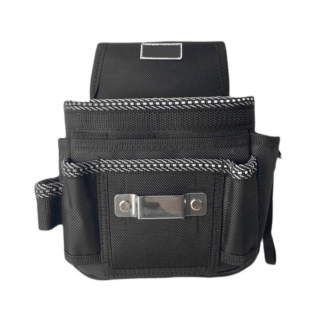 Многофункциональная сумка, сумка для инструментов электрика со скрытой отражающей полосой, винтами, гвоздями, сумкой для хранения сверл, ру...