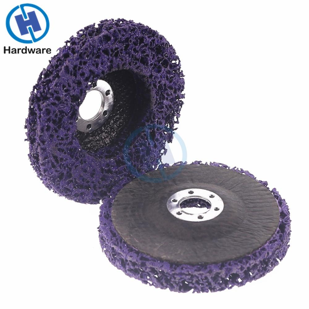 2 vnt. 125 mm polietileno diskų šlifavimo diskų dažų rūdžių pašalinimas švarus kampiniam šlifuokliui