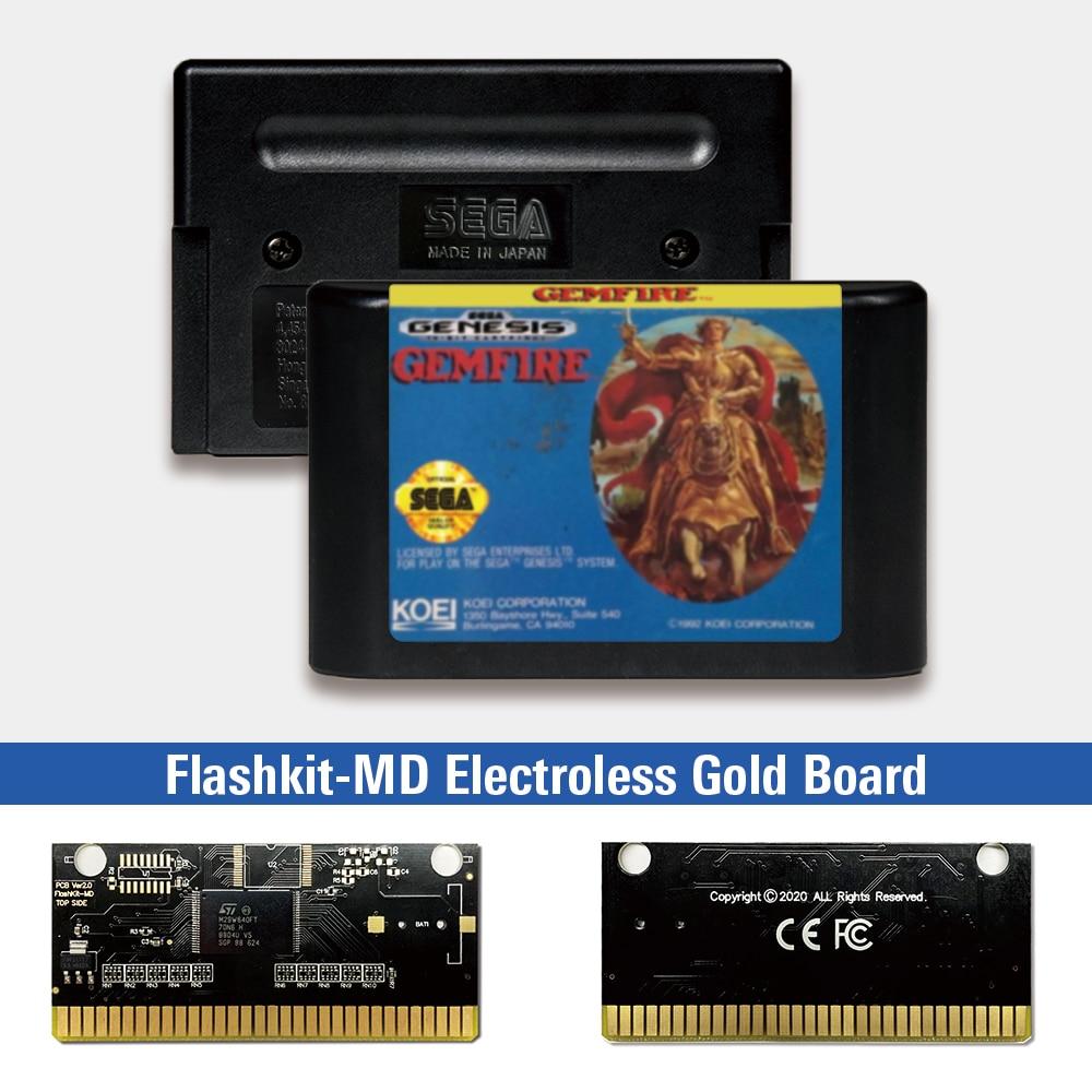 Gemfire - USA Label Flashkit MD, tarjeta PCB de oro sin electrodos...