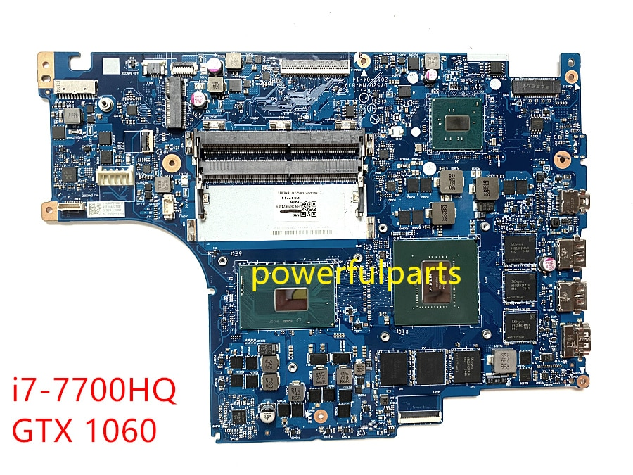 100% العمل لينوفو ليجيون Y520 Y520-15IKBM اللوحة الأم للكمبيوتر المحمول مع i7-7700HQ وحدة المعالجة المركزية GTX 1060 GPU BY520 NM-B391 اللوحة الرئيسية