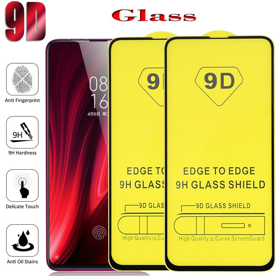 50 قطعة/الوحدة 9D الزجاج المقسى ل شاومي Redmi نوت 10 10S 9 9s 8 برو حامي الشاشة ل redmi نوت 7 6 5 10pro فيلم واقية