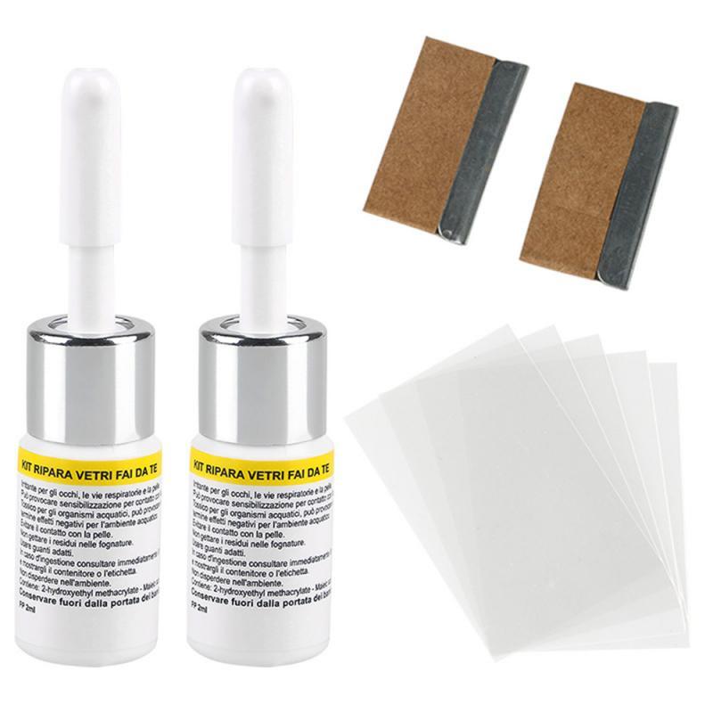NEW Car Glass Repair Fluid Kit Car Window Windshield Glass Crack Chip Repair Tool Scratch Crack Restore Auto Wash Maintenance