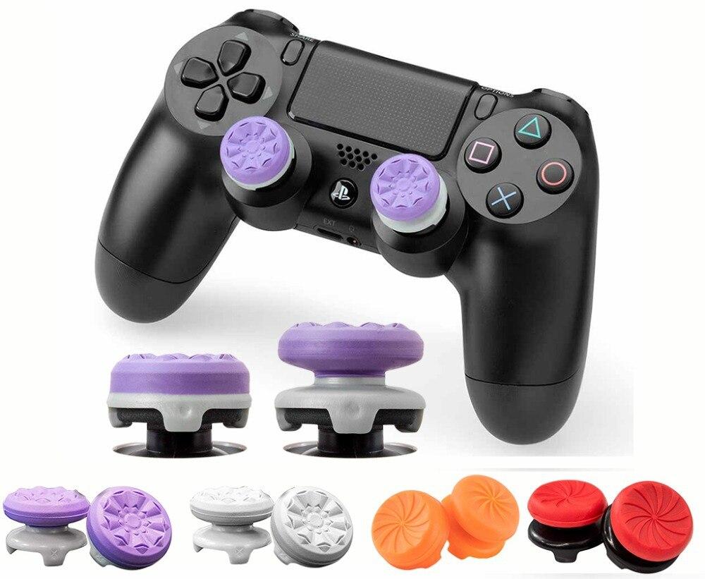 Джойстик для пальца Грипсы, контроллер, движение, геймпад для PS4, контроллер движения, силиконовые ручки для больших пальцев, свободные анал...