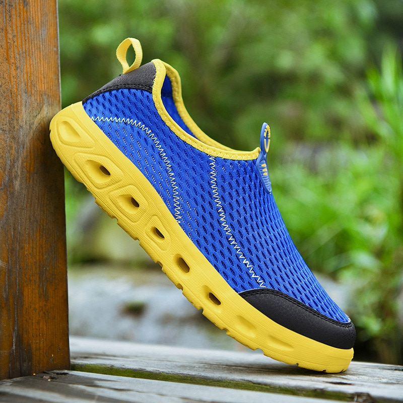 Plus Size 48 Hiking Shoes For Men Outdoor Slip on Climbing Sport Shoes Tactical Hunting Trekking Mountain Boots Black Sneaker
