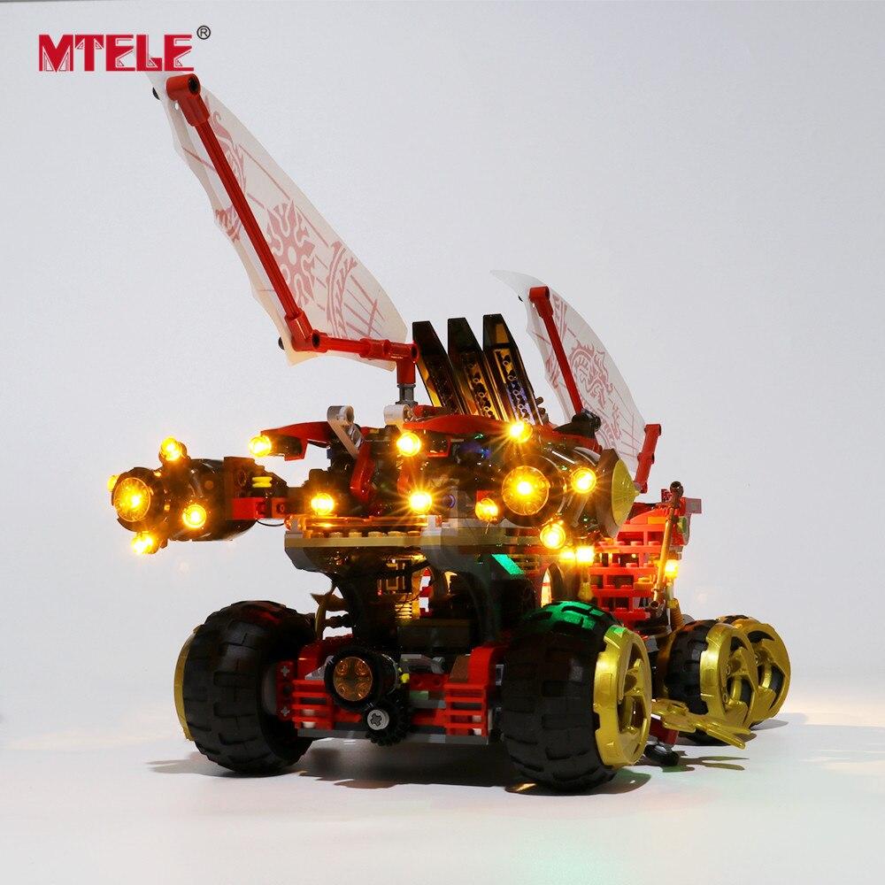 Купить с кэшбэком MTELE LED Light Kit for 70677 Compatible With 11332