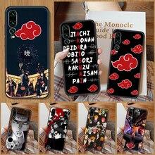 Akatsuki Anime Phone Case For Huawei P Mate P10 P20 P30 P40 10 20 Smart Z Pro Lite black silicone fu