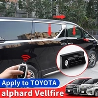 suitable for toyota alphard one click window lifter obd vellfire 30 20 driving automatic locking remote control lifting window