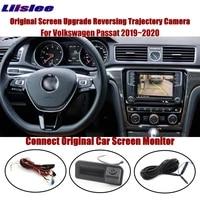 car rearview camera intelligent track image for vw passat 2019 2020 original display parking back cam