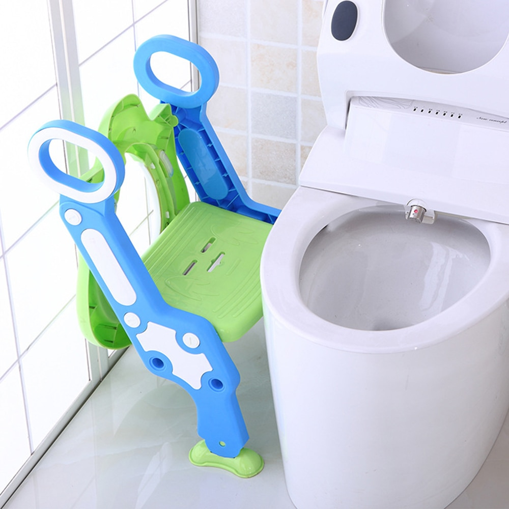 Baby Pot for Kids Toilet Seat With Adjustable Ladder Child Potty Chair Folding Toilet Training Seat Step Children Potty Seats enlarge