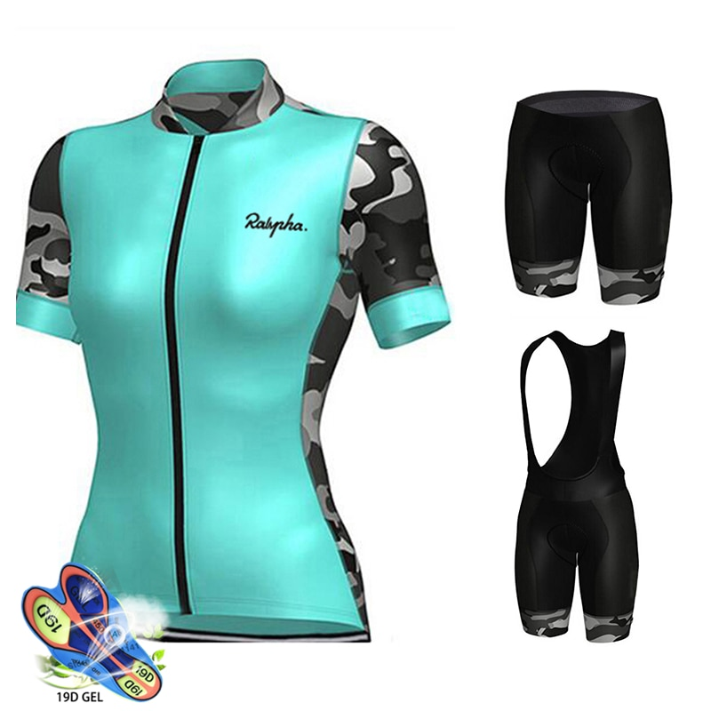 Pantalones cortos de bicicleta de Gel 19D para mujer, Maillot de Ciclismo,...