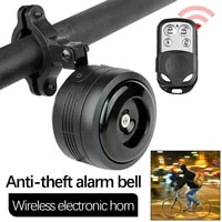 125db usb charging 1300 mah bicycle electric bell cycle motorcycle scooter trumpet horn anti theft alarm siren remote control