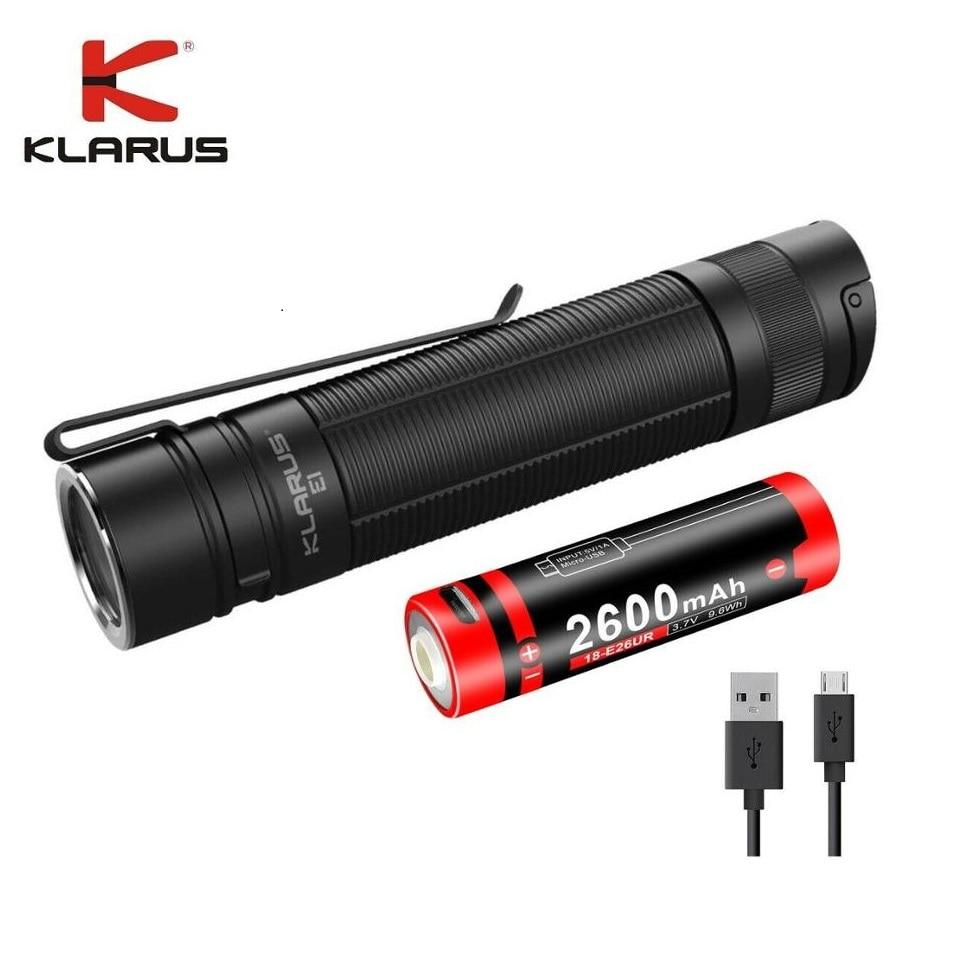 lanterna de bolso mini led recarregavel com bateria 18650 para acampamento e caminhada