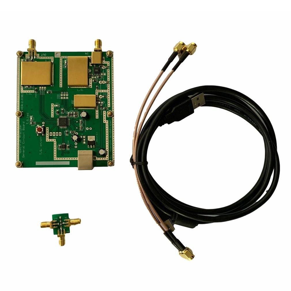 Último analizador de espectro Simple D6 con seguimiento de la fuente del generador traza T.G. V2.032 analizador de espectro