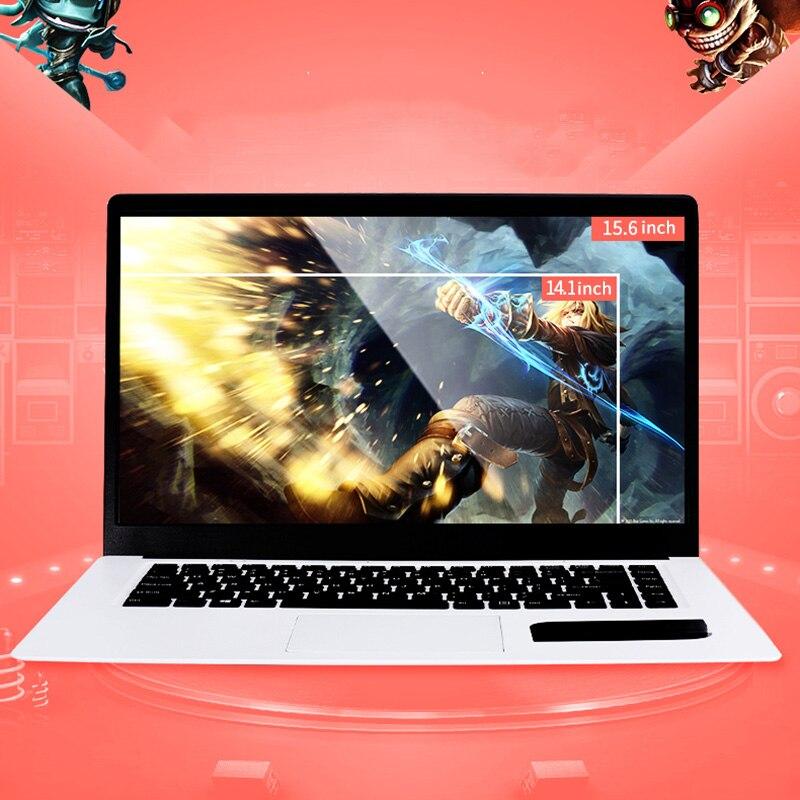Portátil de 15,6 pulgadas 1920x1080 HD Ultrabook Intel Atom X5-Z8350 Quad Core 4GB + 64GB de Windows para Windows 10 Notebook