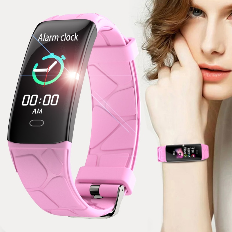 IP68 waterproof Reloj inteligente sport smart bracelet men for Iphone ios Heart rate monitor blood pressure functions Smart Band